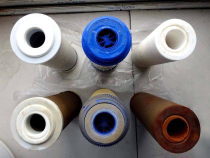净水器滤芯堵塞